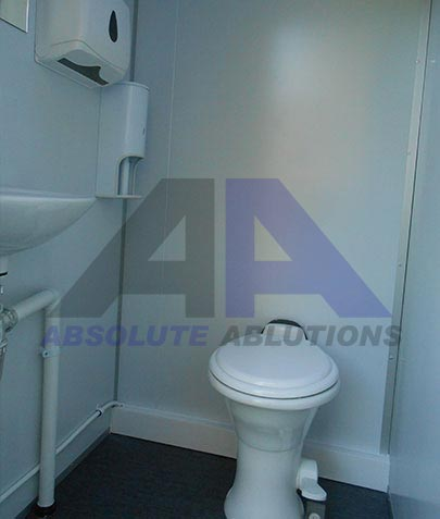 MAXI 8 CLEANFLUSH TOILET / SHOWER
