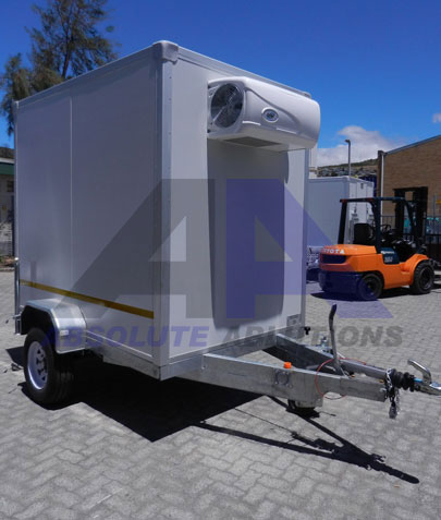 This unit is ideal for food and beverage transportation to your next event
