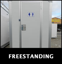 FREESTANDING showers & portable toilets for sale